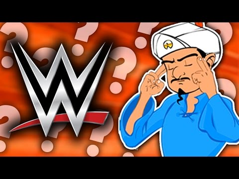 CAN AKINATOR GUESS THESE WWE WRESTLERS/SUPERSTARS?