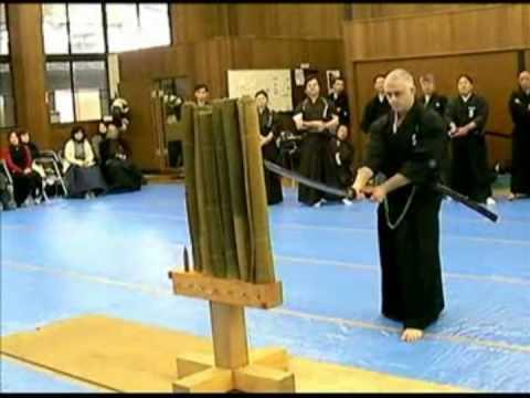 Tameshigiri. Sword Cutting. Glenn Waters