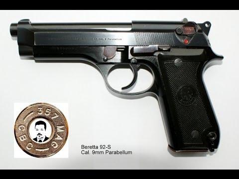 Pistole Beretta 92S zerlegen (disassembly)