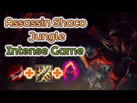 Shaco Jungle Nailbiting Game [League of Legends] Full Gameplay - Infernal Shaco thumbnail