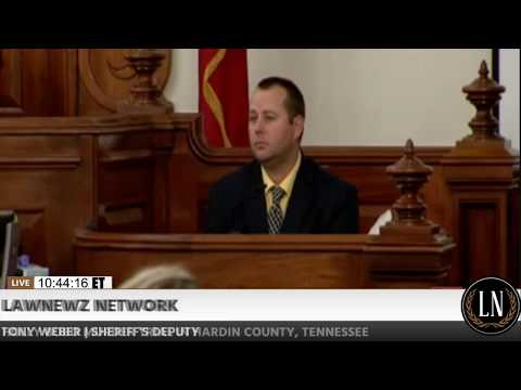 Holly Bobo Murder Trial Day 2 Part 1 Deputy Tony Weber Testifies 09/12/17