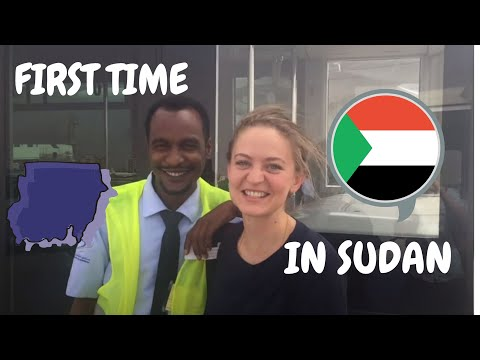 House of Sudanese president, Nile river and arrival to Sudan!