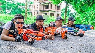 LTT Game Nerf War : Captain Warriors SEAL X Nerf Guns Fight Inhuman Group Cross Fire Surprise