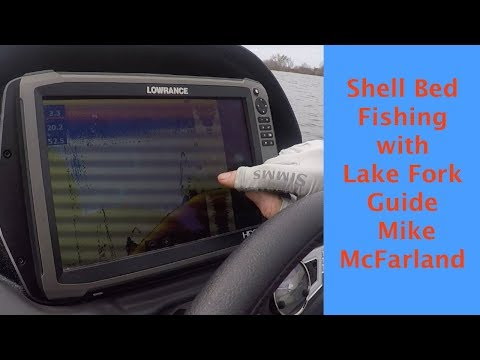 Shell Bed Fishing With Lake Fork Guide Mike McFarland