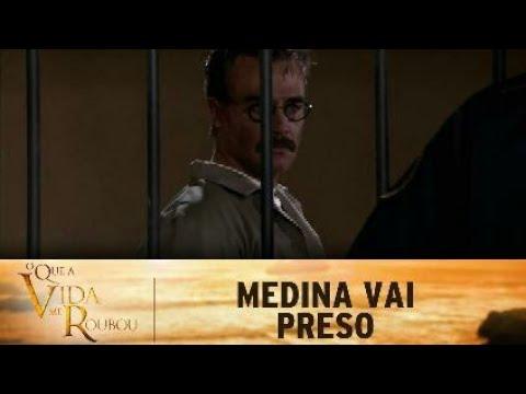 O Que a vida me Roubou - Pedro Medina vai Preso