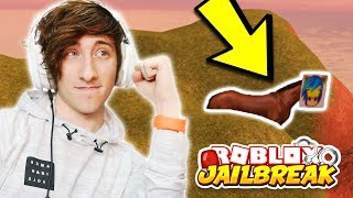 ROBLOX JAILBREAK KREEKCRAFT EASTER EGG! (Jailbreak Horse!) | Roblox Jailbreak New Update