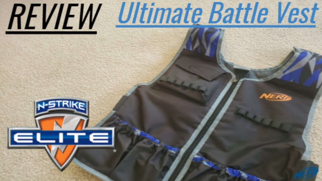 Download [REVIEW] NERF Ultimate Battle Vest