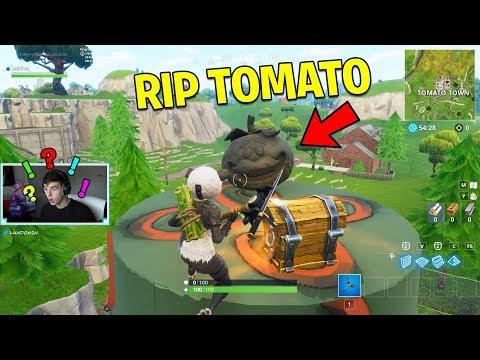 1 LIKE = 1 RIP TOMATO TOWN! | Fortnite Battle Royale Gameplay