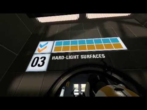 portal 2 co op chapter 3 light bridge shields youtube. Black Bedroom Furniture Sets. Home Design Ideas