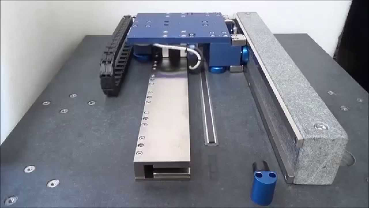 Air Bearing Linear Motor Positioning Stage Abs 012 12