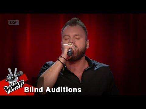 Κωνσταντίνος Κωτσαδάμ - Τα κλειδιά | 14o Blind Audition | The Voice of Greece