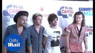 One Direction at the Captial FM Summertime ball - Daily Mail
