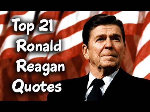 Ronald Reagan Quotes Simple Top 48 Ronald Reagan Quotes Author Of The Reagan Diaries YouTube