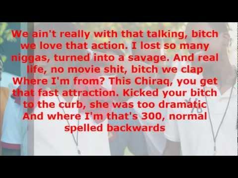 Lil Reese Ft. Chief Keef - Traffic (Lyrics)