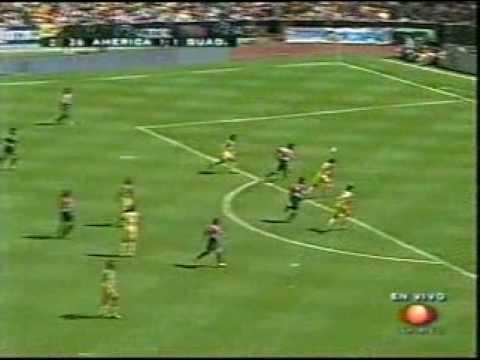 AMERICA VS CHIVAS APERTURA 2003, GOL DEL LOCO ABREU