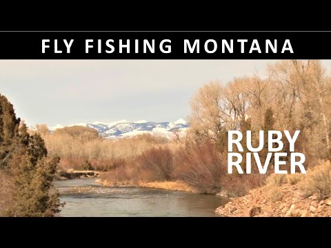 Fly Fishing Montana: Ruby River In March - Trailer For Full Show On Amazon Video In Season  12