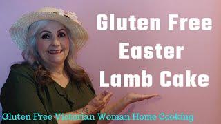 Gluten Free Easter Lamb Cake