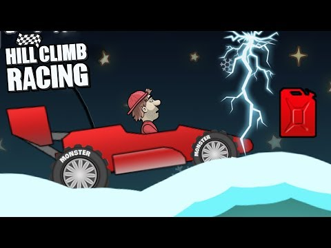 Hill Climb Racing - Race Car 4708m on XMAS - Walkthrough - 동영상
