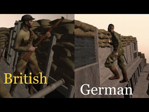 World War One Trenches - Fromelles and Pozieres