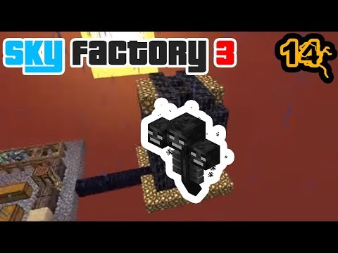 The Wither Battle, I Promise We Don't Screw Up That Much | Minecraft: New Sky Factory 3 Ep. 14