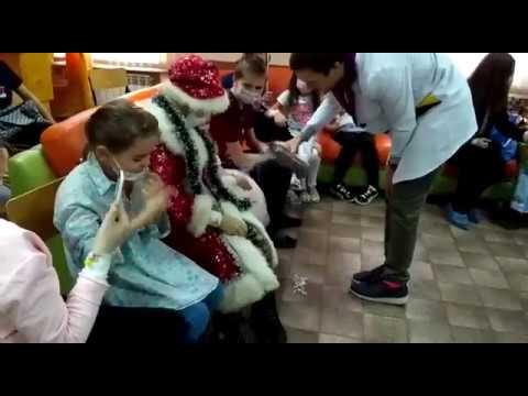 Праздник для деток в гематологии, г.Саратов 18 декабря 2017год