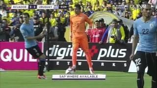Ecuador vs Uruguay | PRIMER TIEMPO | Eliminatorias a Rusia 2018