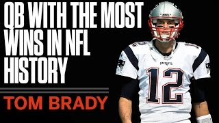 Tom Brady sets All-Time Win Record! Is he the Greatest QB ever? - Faiz Sports Talk