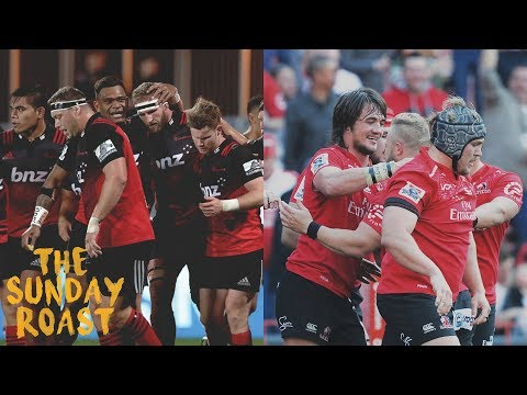 Our Reaction To The Super Rugby Final - The Sunday Roast Ep 4