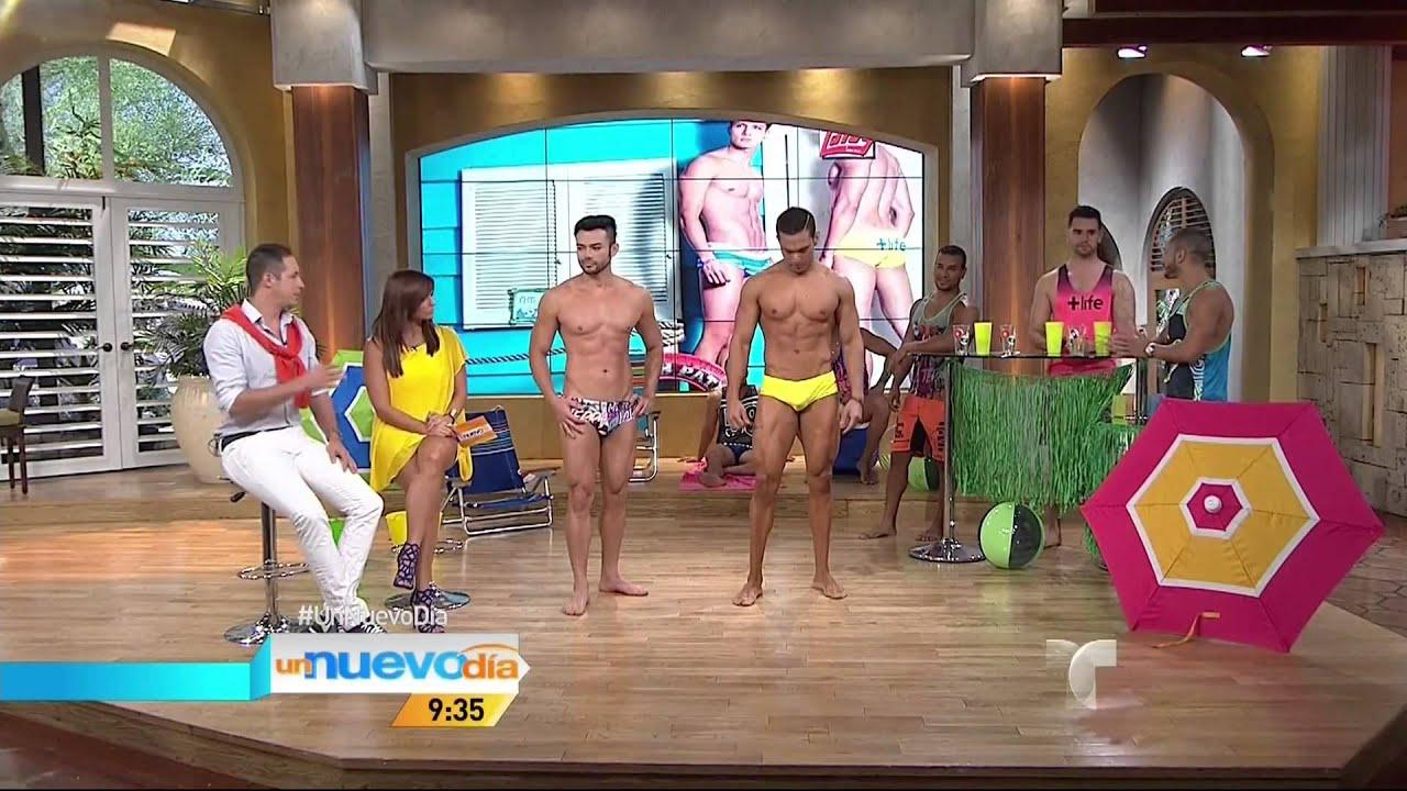Baños Gay Porno trajes de baños para ellos | un nuevo día | telemundo