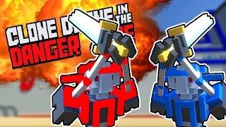 בואו נשחק - Clone Drone in the Danger Zone - הכל בוער באש!