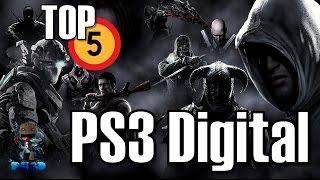 TOP5: Los juegos mas vendidos en PS3 Digital