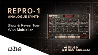REPRO-1 Analogue Synth Plugin By u-he - Show Reveal With Mulitpler