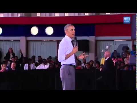 President Barack Obama's response on China's involvement in Jamaica's Development