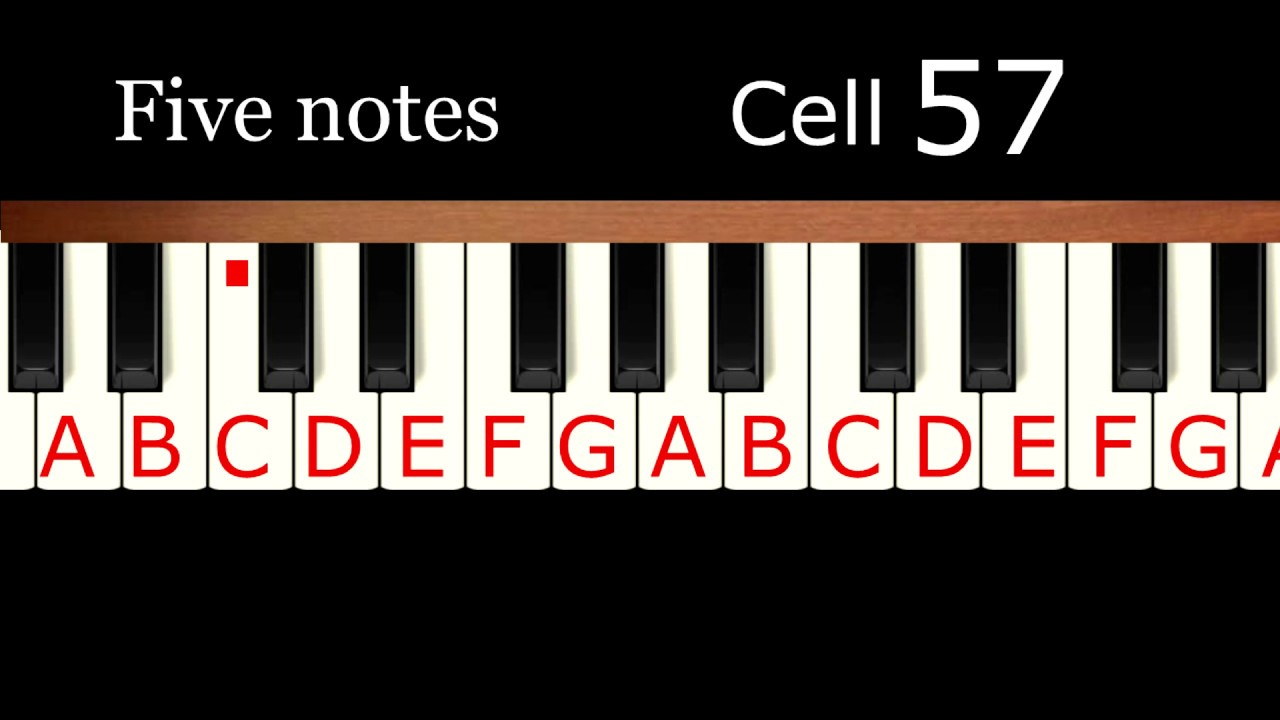 Learn to play piano by ear in 40 minutes. Relative pitch training ...