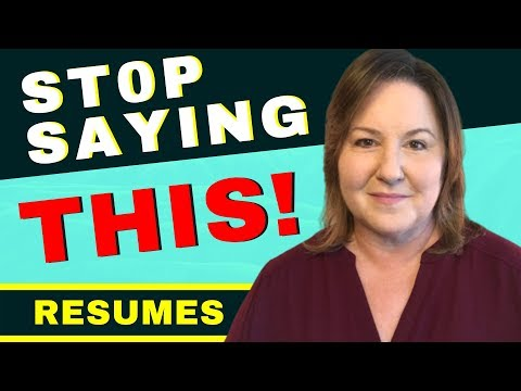 Core Competencies – Resume Words You MUST Stop Using!!