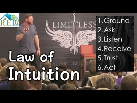 Laws of Attraction - Trust Your Gut - Law of Intuition