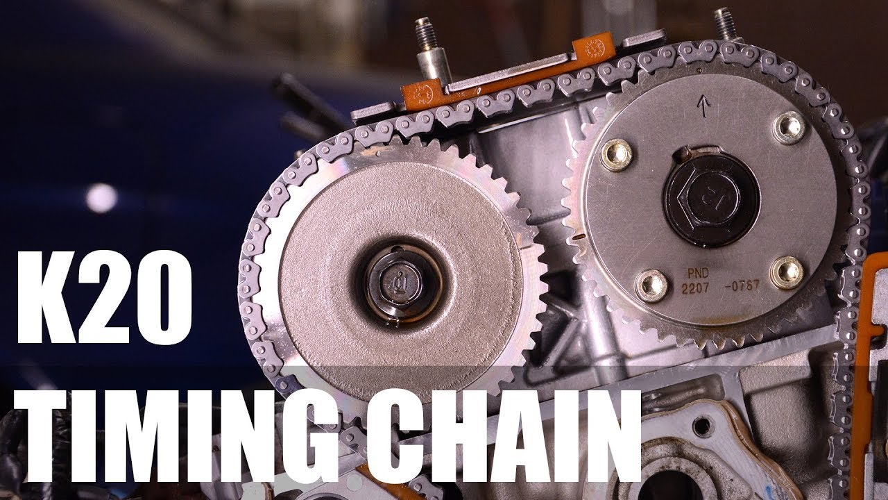 medium resolution of k20 timing chain inspection type d movies
