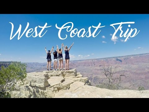 WEST COAST TRIP 2016: LA, San Francisco, Las Vegas & Grand Canyon [GoPro]