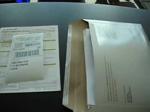 April 19, 2012, Procedure of Service by Registered Courier upon Robert C. Jones