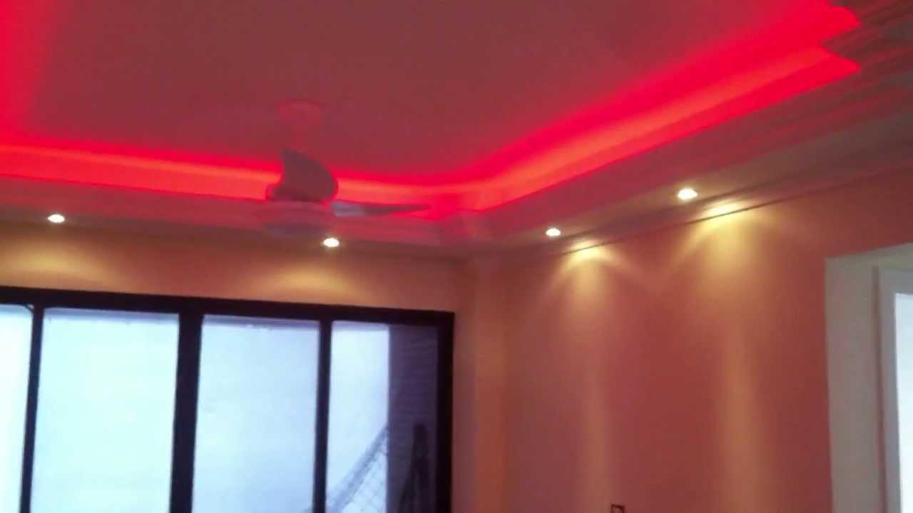 Fita Led Rgb Smd Ip65 a Prova Dgua 5050 30 LEDs com