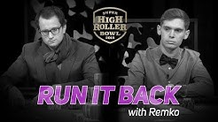 Rainer Kempe's Ridiculous Final Table Fold | 2016 Super High Roller Bowl | Run It Back with Remko