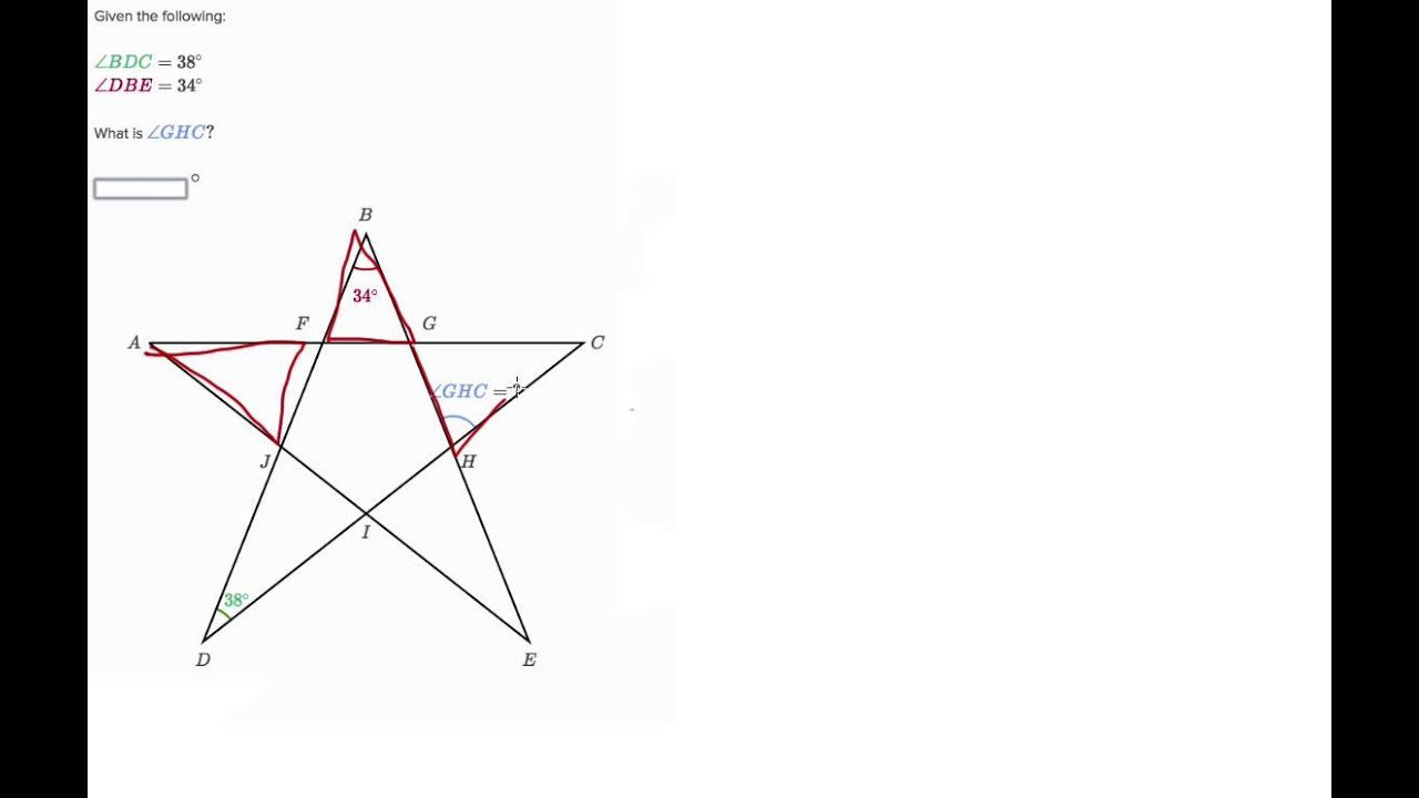 Finding Angle Measures 2 - YouTube
