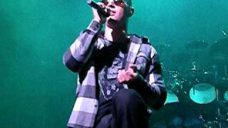 Avenged Sevenfold M Shadows Talking About Hospital Visit 12/9/08 - Baltimore, MD