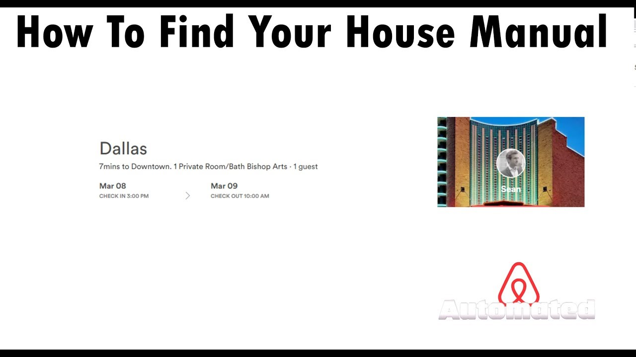 For Guests | Finding Your House Manual | Airbnb Guest Help tools