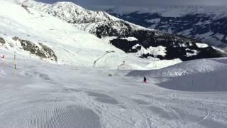 видео Горные лыжи в Австрии