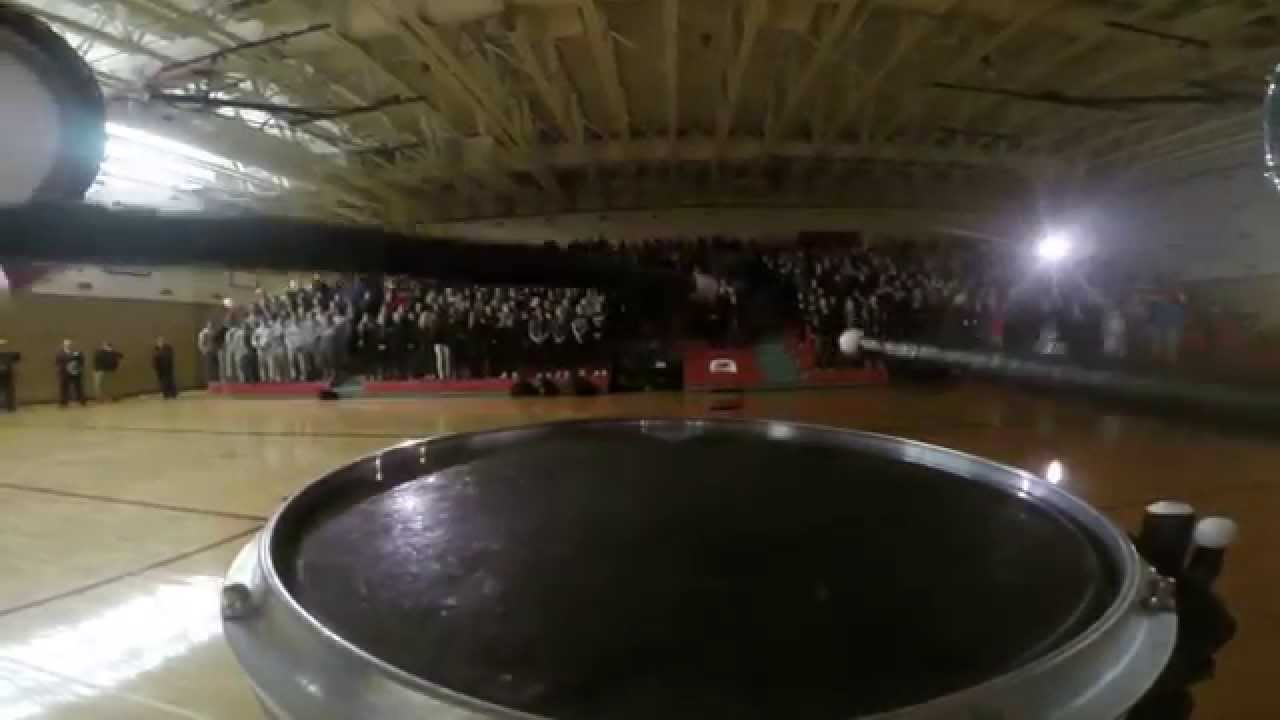2015 Red River Pep Rally Snare Drum Cam