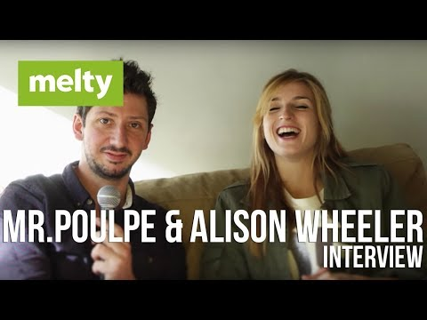 Mr Pouple & Alison Wheeler 'l'interview' | Paris | 2014