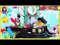 Ninjago City Lego Build the Sushi Restaurant High Rise Shops Review Kids Toys