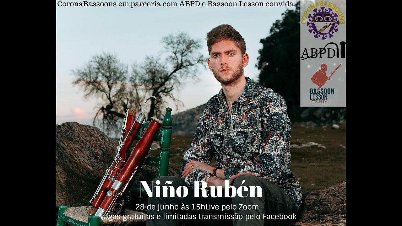 Live com Niño Rúben - Fagote Flamenco