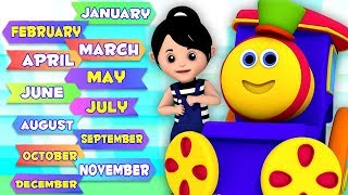 Мультик про 12 месяцев года | Времена года | Bob Father Year Months | Learning Street With Bob